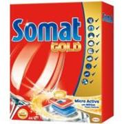 Таблетки для посудомоечных машин Somat Голд 44 шт (9000100930628) фото