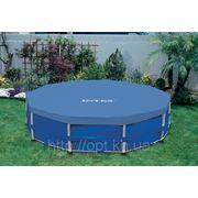 Чехол для каркасного круглого бассейна 457 см Intex 58901 фото