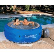LAY-Z-SPA Аэромассажный надувной мини бассейн СПА (код 54075)