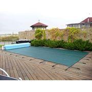 Накрытия для бассейнов, защитное накрытие для бассейна, зимняя консервация бассейна, накрыть бассейн фото