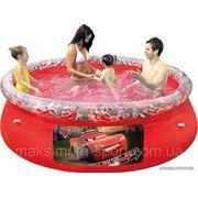 """Семейный надувной бассейн """"Тачки"""" BestWay 91026"""