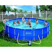 Каркасный круглый бассейн 56113, BestWay, (549х122см.) фото
