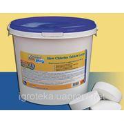 Медленнорастворимые таблетки хлора Crystal Pool Slow Chlorine Tablets Large, 1 кг фото