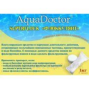 Коагулянт AquaDoctor 1кг(8 картушей)