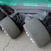 Наплавка колес полиуретаном для спецтехники фото