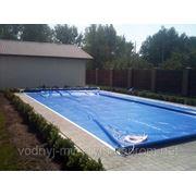 Роллетное накрытие для бассейнов фото