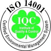 Сертификат качества ISO 14001 фото