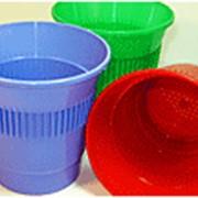 Пластиковый стакан чайный фото