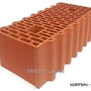 Блок керамический Porotherm 51 GL поризованный фото