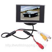 Цветной монитор автомобильный LCD 3.5». фото