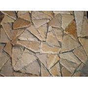 Плитка из камня песчаника **мозаика со сколом** фото