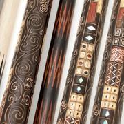 Кий для бильярда ручной работы Элит Эбен, сатин корона 12-и перая Климт фото