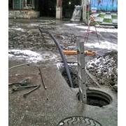 Санация трубопровода фото