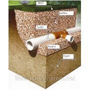 Влаштування різних видів дренажу, ливневої каналізації. фото