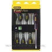 Набор отверток Stanley 0-65-099 FatMax под шлиц Tamperproof Torx (TT10x75, TT15x75, TT20x100, TT25x100, TT30x125, TT40x125) EU фото