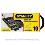 Набор отверток Stanley 2-65-014 CushionGrip Fl/Pz (3х75, 5х100, 6,5х45, 6,5х150, 8х150; Pz0x60, Pz1x75, Pz2x45, Pz2x100, Ph3x150) фото