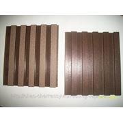 Вагонка из древесно-полимерного композита фото