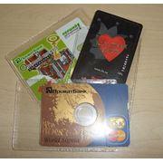 Чехол - для пластиковой карты или мини-диска (CD, DVD) фото