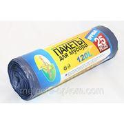Мешки для мусора Традиции Качества 120л/25шт/20мкн., мешки для мусора оптом фото