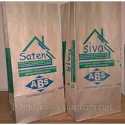 Пакеты бумажные под цемент, алебастр, шпаклевку 2кг, 4кг, 8кг фото