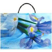 Подарочный пакет с пластиковой ручкой 35х32 (100шт./уп.) Ивано-Франковск