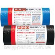 Пакеты для мусора LD 160 л.,10шт/уп. Сверхпрочные (синие,черные) - ТМ PRO Servis