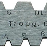 Шаблоны для проверки угла заточки резьбовых резцов фото