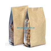 Упаковка для кофе с крафт бумагой фото