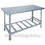 Металлические столы фото