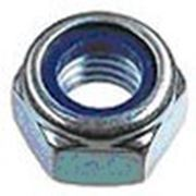 Гайка с контрящим кольцом, шестигранная DIN 985 Класс прочности 8.8 фото