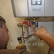 Сервисное обслуживание, чистка водонагревателей фото