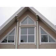 Нестандартні вікна в приватний будинок фото