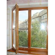 Металопластиковое окно, Winbau - 4к, однокамерный стеклопакет, 1300х1400 фото