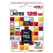 Карта памяти microSDXC с адаптером 128GB фото