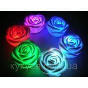 Мини светильник-хамелеон Роза фото
