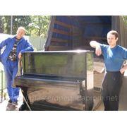 Перевозка пианино. фото