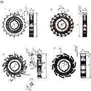 Фрезы 3-х сторонние дисковые от 50мм до 230мм фото