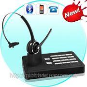 Громкая связь Bluetooth гарнитура беспроводная система (2-в-1 Телефон стационарные и мобильные подкл фото