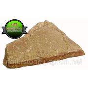 Камень песчаник желто коричневый фото
