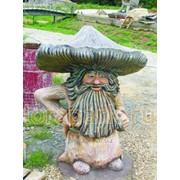Скульптура Гриб - Весельчак -1 фото