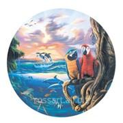 Картина на холсте Фэнтези Попугаи фото