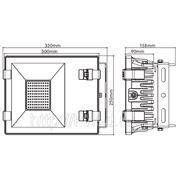 Светодиодный прожектор 100 w