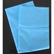 Простыня-пл. 42-2000х700мм голубая фото