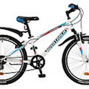 "Велосипед NOVATRACK 24"" EXTREM белый 6 СКОР. TY21/RS35/SG-6SI 24SH6SV.EXTREME.10WT7 #117109 фото"