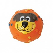 Игрушка Мяч с мордочкой резиновый 7 см 27799273 НОВИНКА фото