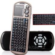 Русская версия IPazzPort 2.4G портативная беспроводная Мини-клавиатура с ИК-пультом дистанционного управления фото