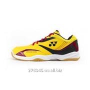 Кроссовки для бадминтона SHB-49 Yellow/Red 22,0-29,0 фото