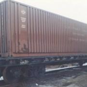 Платформа универсальная. Дооборудование под перевозку крупнотоннажных контейнеров