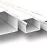 Кабель-канал 100х40х2000мм (белый) с двойным замком фото