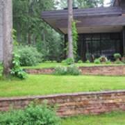 Ландшафтный дизайн загородного участка фото